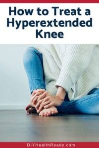 How to Treat a Hyperextended Knee 1