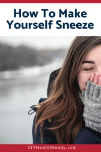 How To Make Yourself Sneeze 1