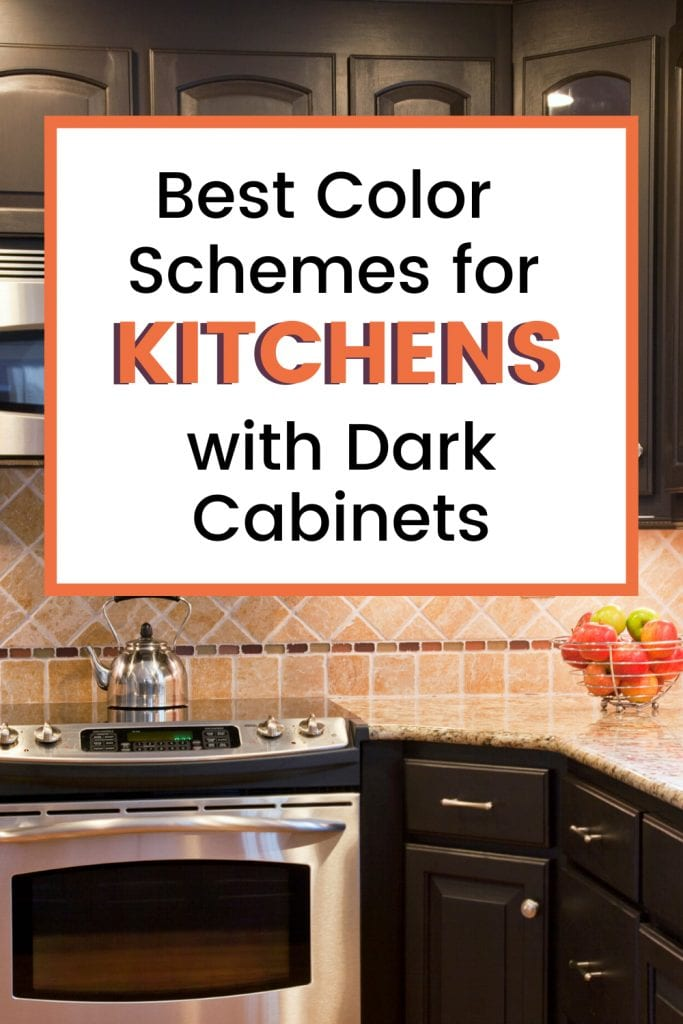 Best Color Schemes for Kitchens with Dark Cabinets Ideas